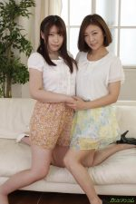 HITOMI & Yumi Kamiya Beautiful mother-daughter with a perfect breath of sex